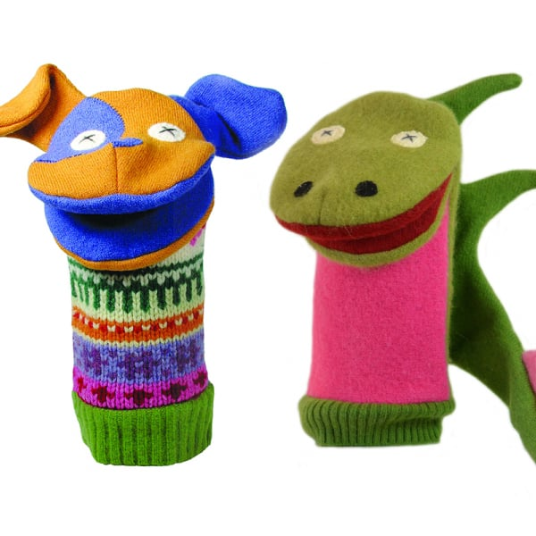 product image for Animal Hand Puppets