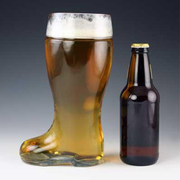 Boot-Shaped Beer Mug