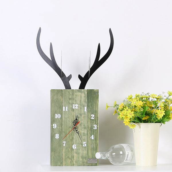 Bewood Deer Wall Clock