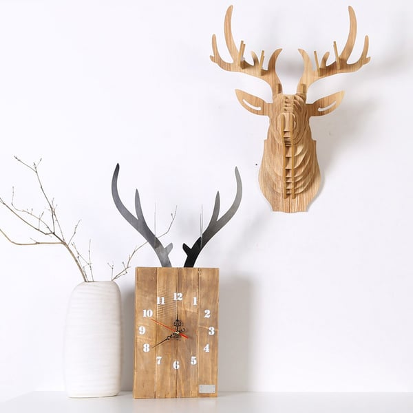 product image for Bewood Deer Wall Clock