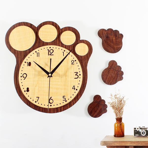 Big Foot Wall Clock