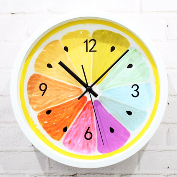 Fruit Slice Wall Clock