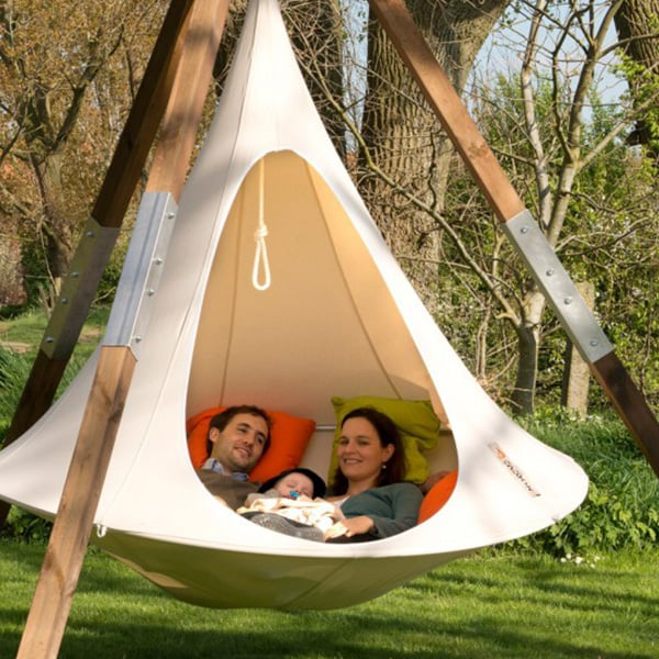 Double Cacoon Hanging Chair