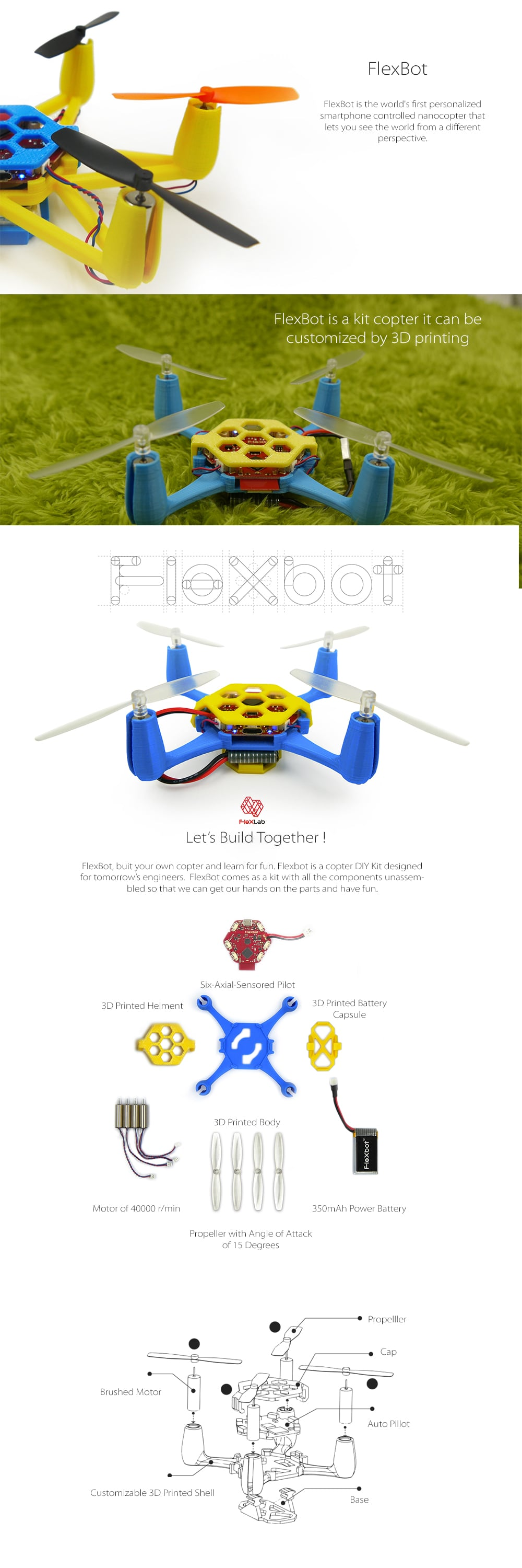 Flexbot Drone Piloting Made Easy!