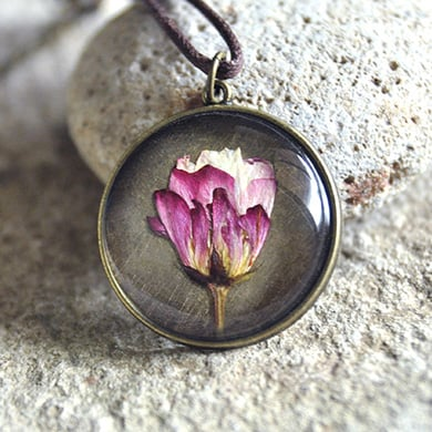 Natural Vintage Floral Jewelry
