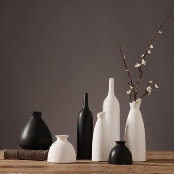 Japanese Zen Ceramic Vase