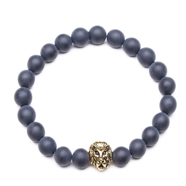 product image for Expandable Beaded Lion Bracelet