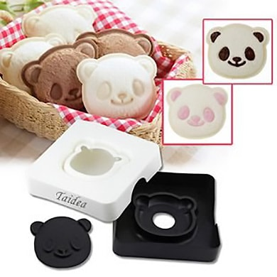 Cute Panda Shape Bread Cutter