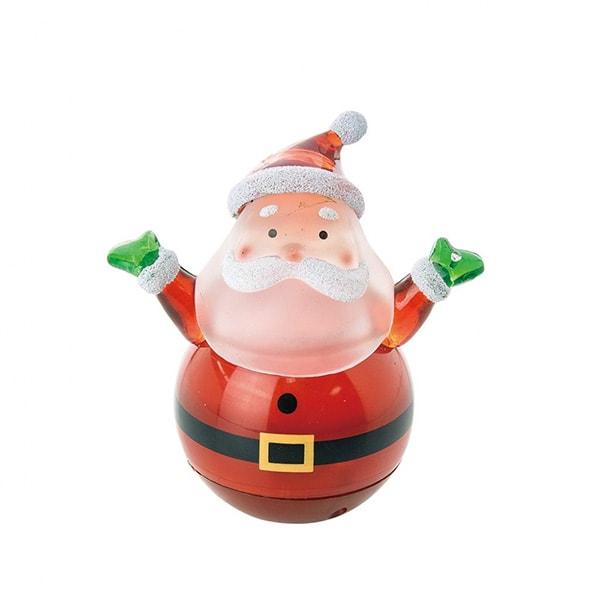 Roly-Poly LED Santa/Snowman
