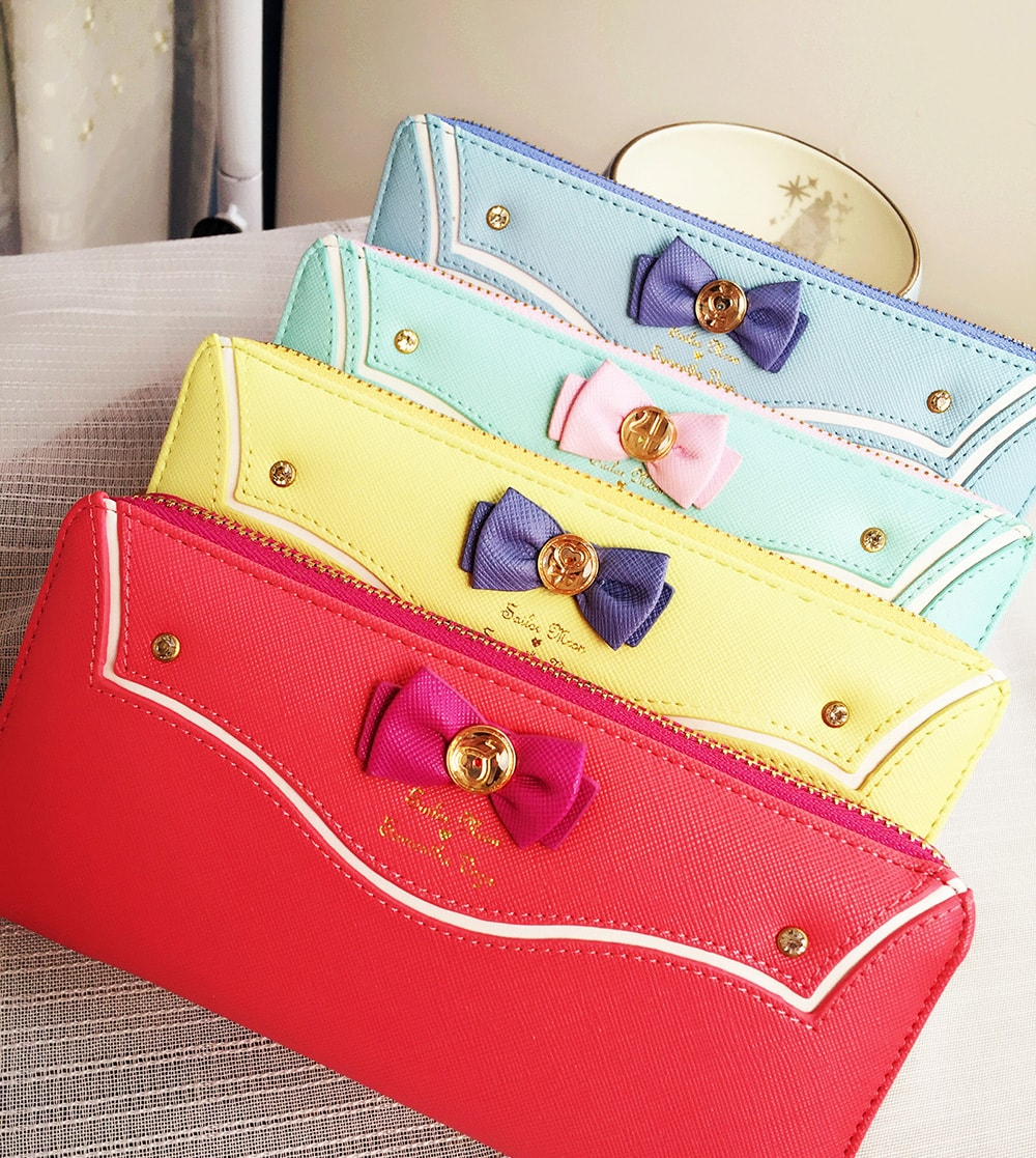 Sailor Moon Cosplay Wallet Large Super cute and eye-catching