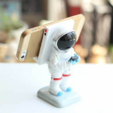 Mr Astronaut Phone Stand