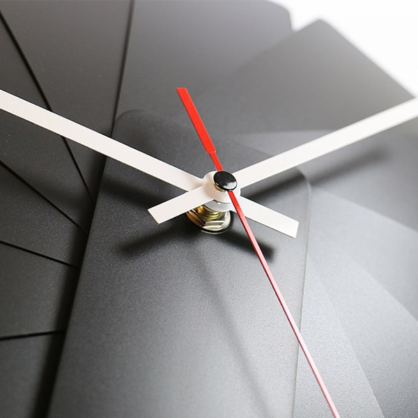product image for Transformer Analog Clock Black/White