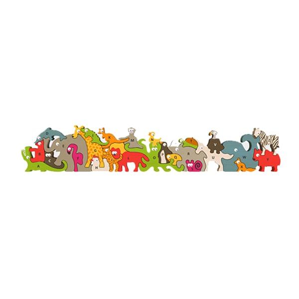 Animal Parade A-Z Puzzle