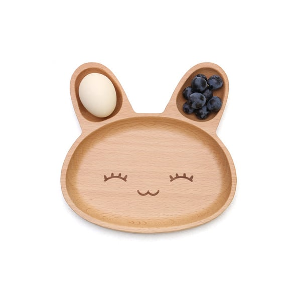 Wooden Animal Plates