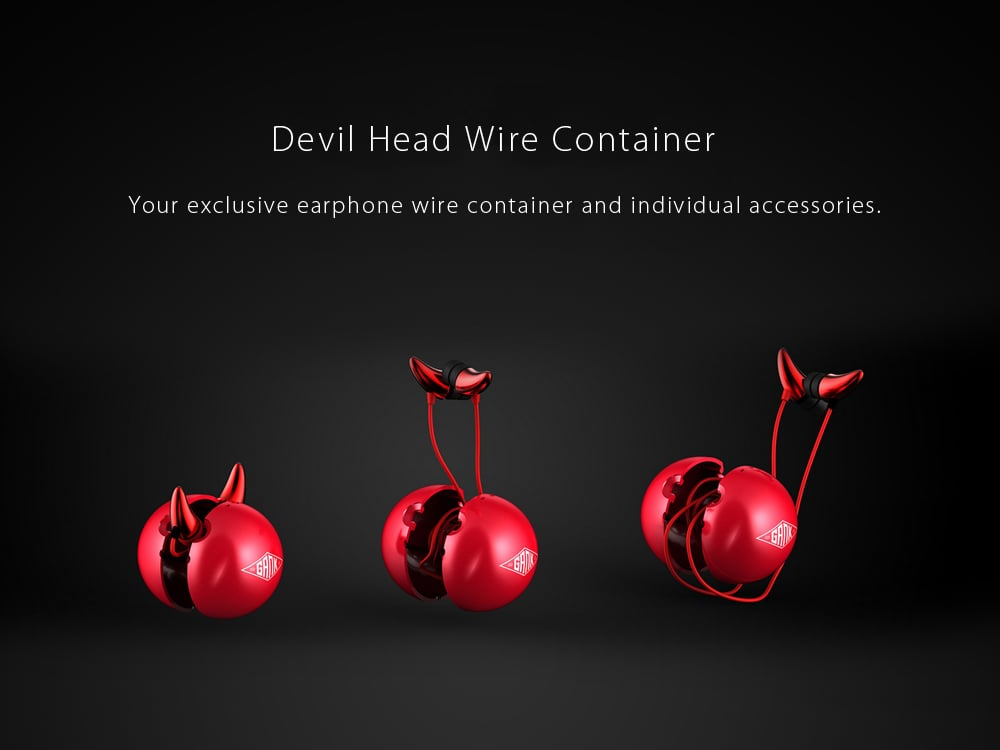 EMIE Devil Horn Earphones A way to show your uniqueness