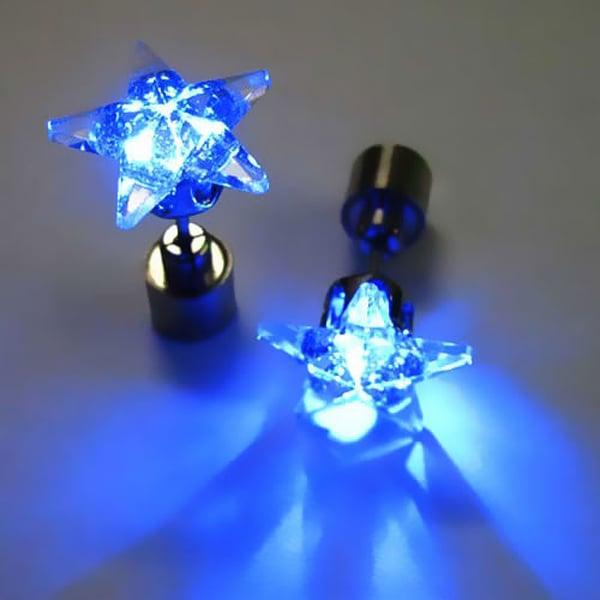 LED Multi-Color Earrings