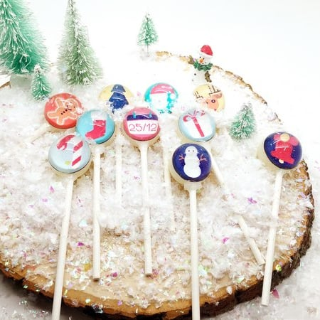 Christmas Lollipops (set of 10)