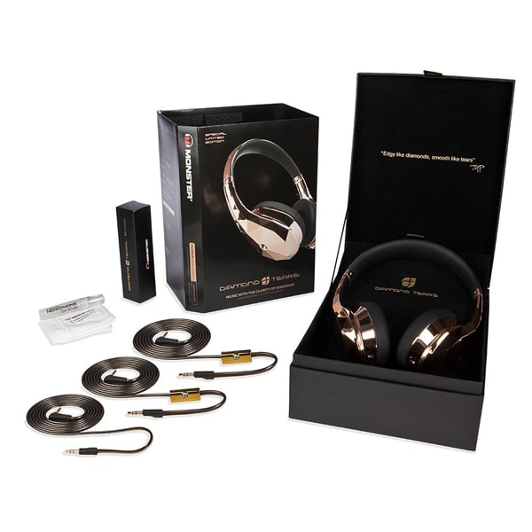 product thumbnail image for Diamond Tears On-Ear Headphones