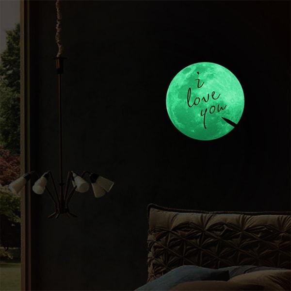 Magic Luminescent Moon Wallpaper