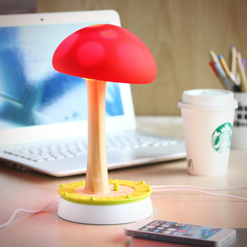 Vacii Mushroom 2-Port USB Charger