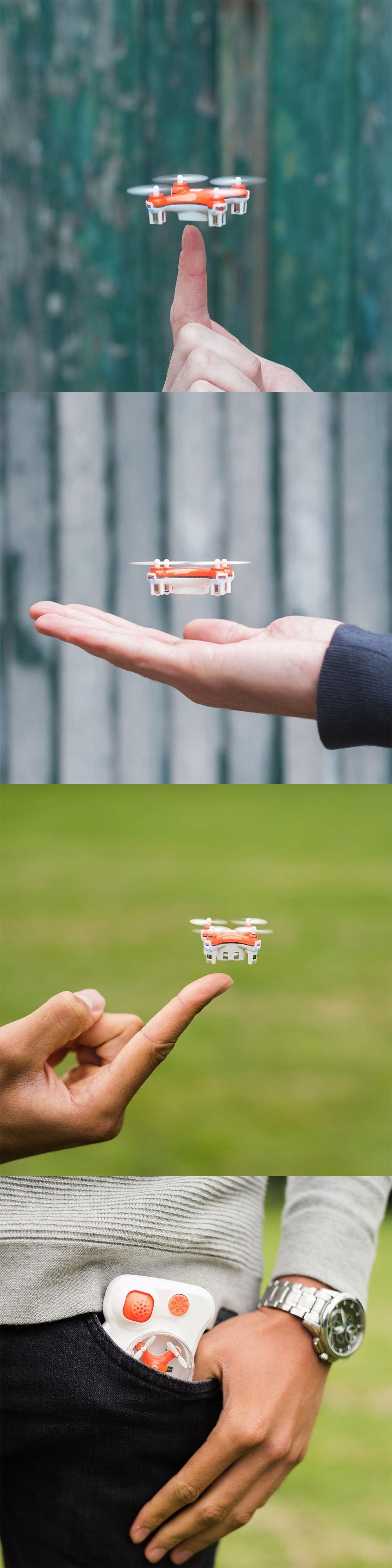 Mini Pocket Drone The Smallest Drone in The World