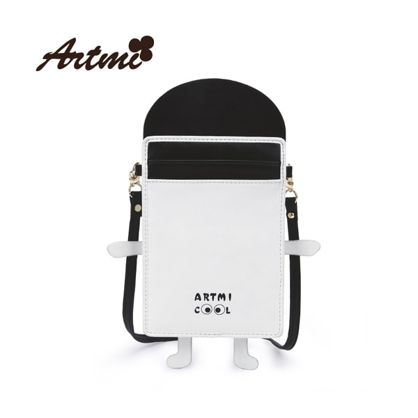 product image for Little Robot Faux Leather Purse