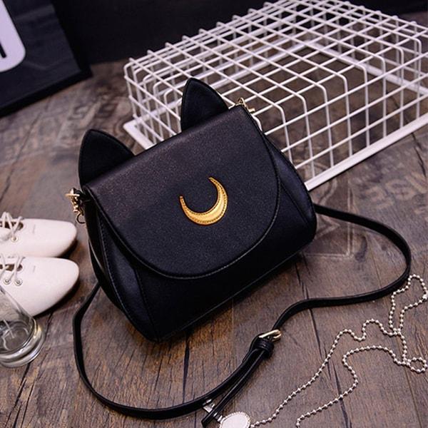 Sailor Moon Faux Leather Purse