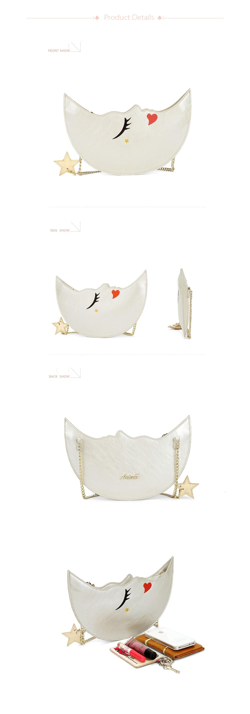 Night Moon Faux Leather Purse Fashion From Artmi!