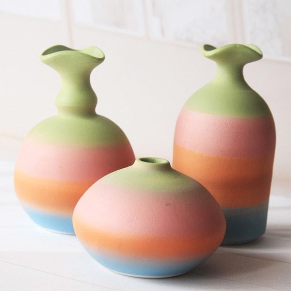 product image for Rainbow Ceramic Vase