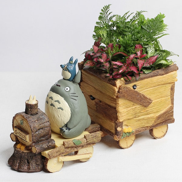 Totoro Decoration Planter