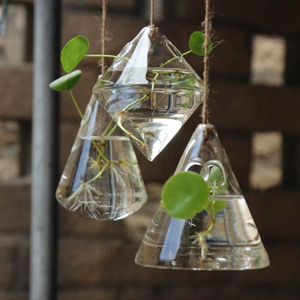 Geometric Hanging Vase