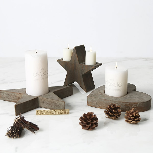 Farmhouse Style Candle Holder