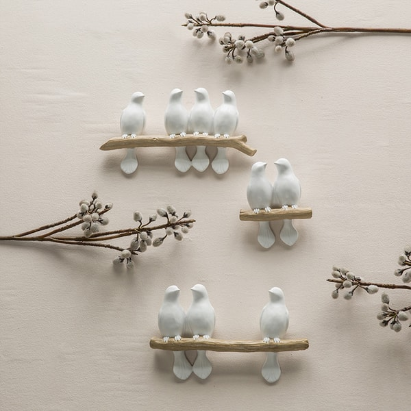 Singing Birds Wall Decoration