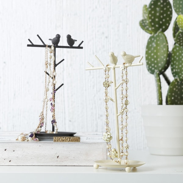 Birds in a Tree Jewelry Stand