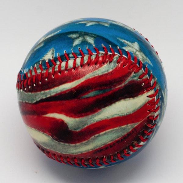 Unforgettaballs Painted Baseballs