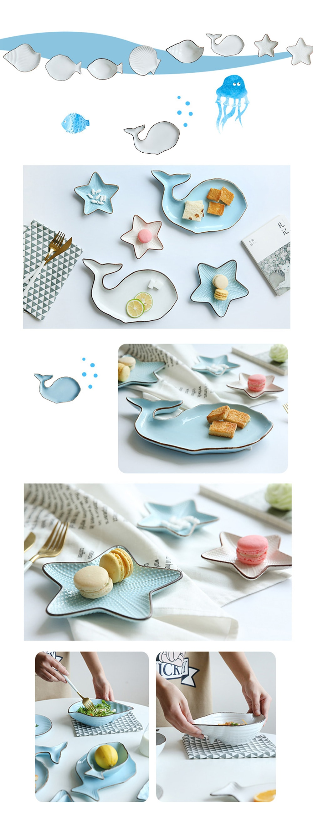 From The Deep Dinnerware Collection You Will Love Dinning With It