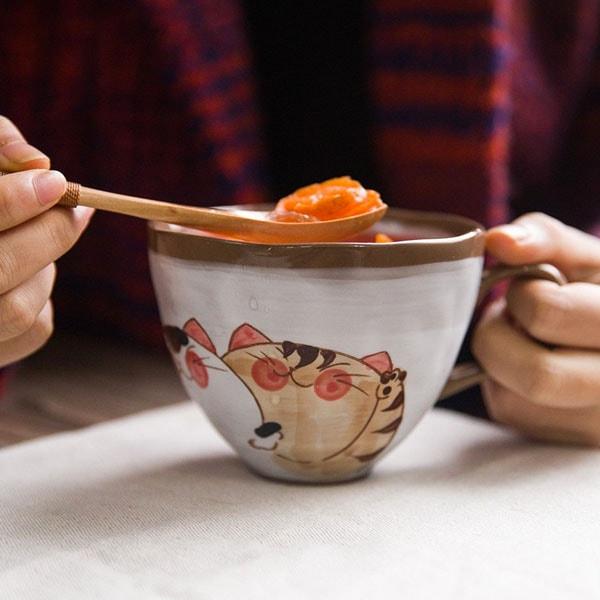 Japanese Style Cat Mug