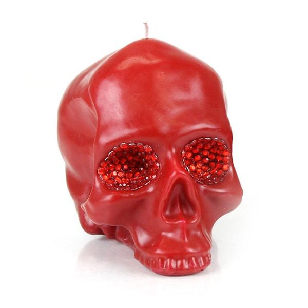 Red Skull Crystal Eyes