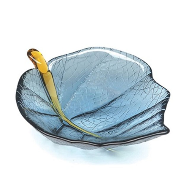 Leaf Bowl Steel Blue