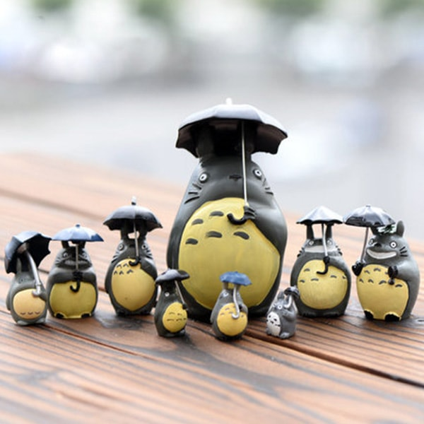 Totoro Figure Set (set of 9)