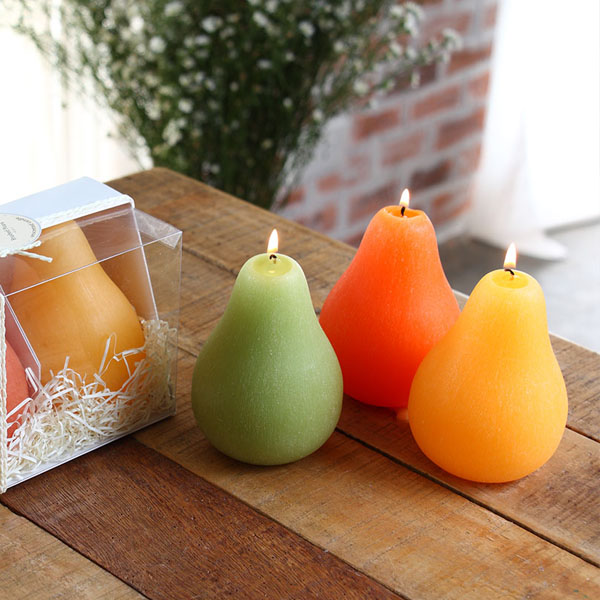 Brushed Pear Candle Gift Sets