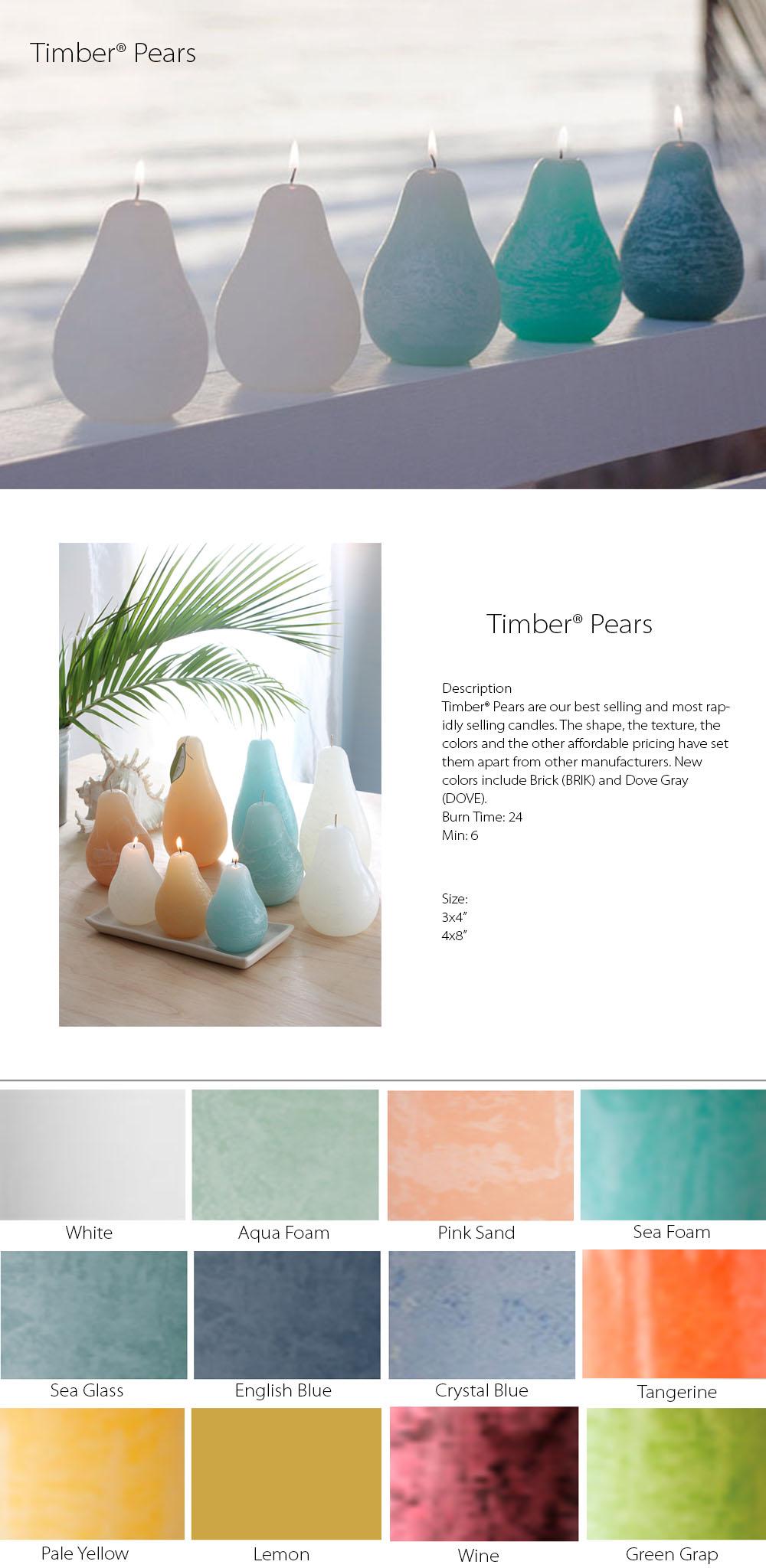 Timber® Pears From Vance Kitira