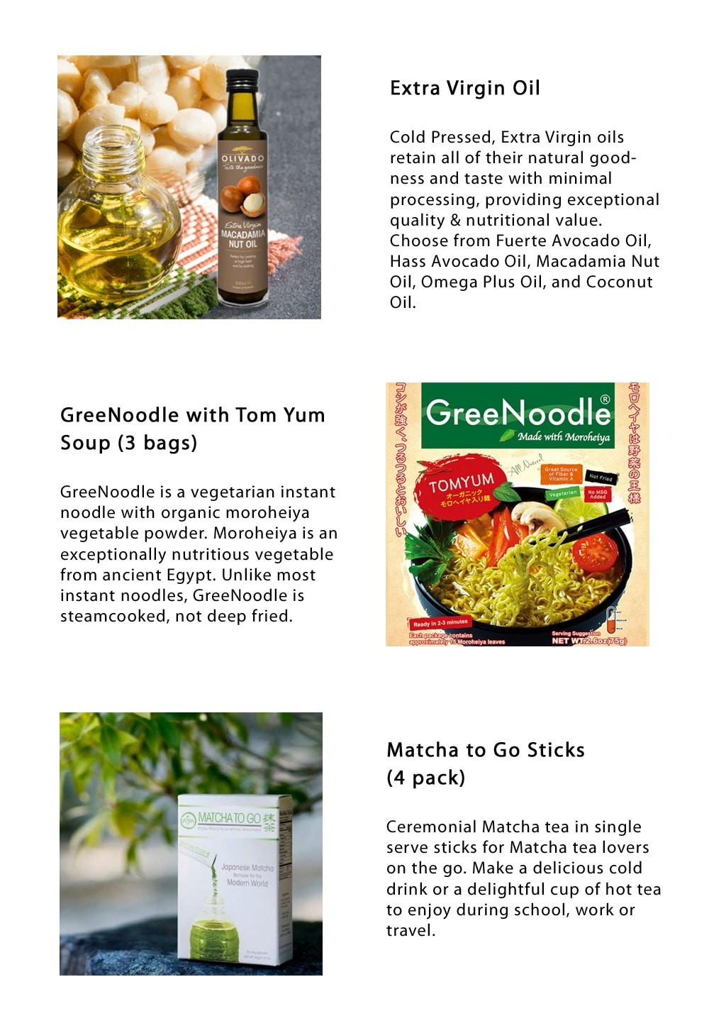 Gift Box for Health Nuts: Healthy Living Good-For-You-Food