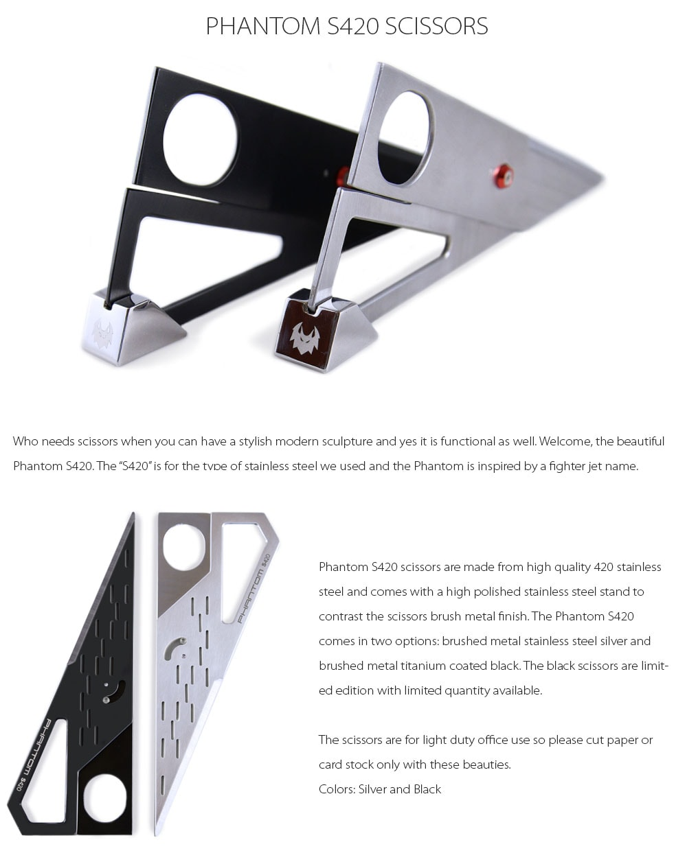 Phantom S420 Scissors Modern, Beautiful and Functional