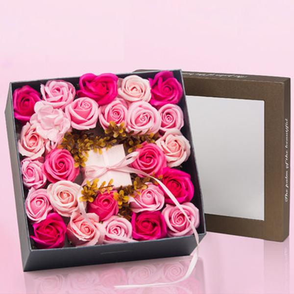 Rose Soap Petals Gift Set