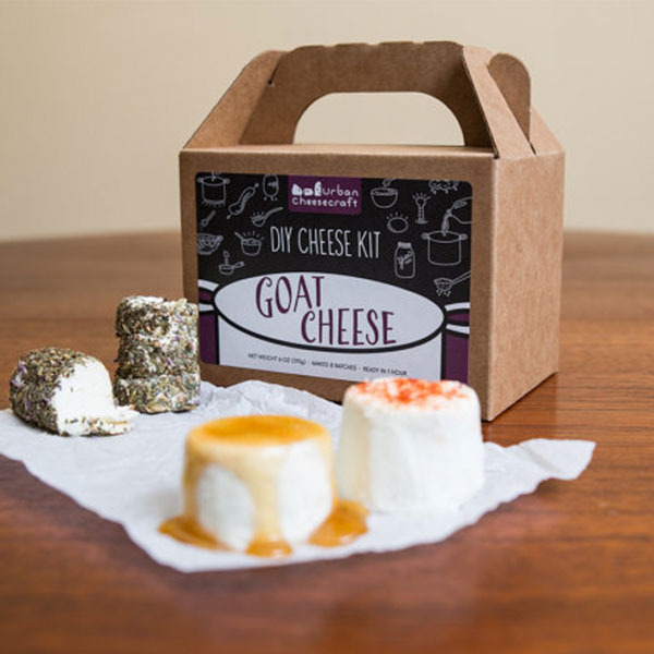 Crumbly Goat Cheese and Creamy Chevre- D.I.Y. Cheese Kit