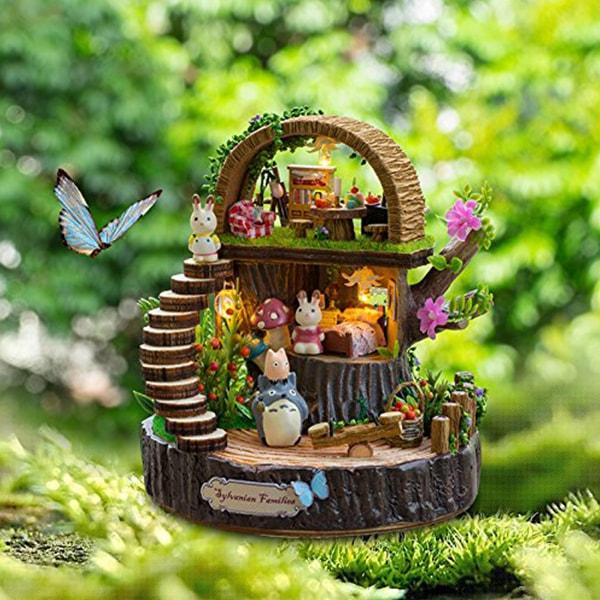 Miniature DIY Dolls House Kit Fantasy Forest