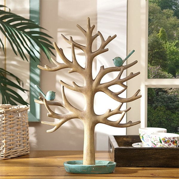Accessory Tree with Birds