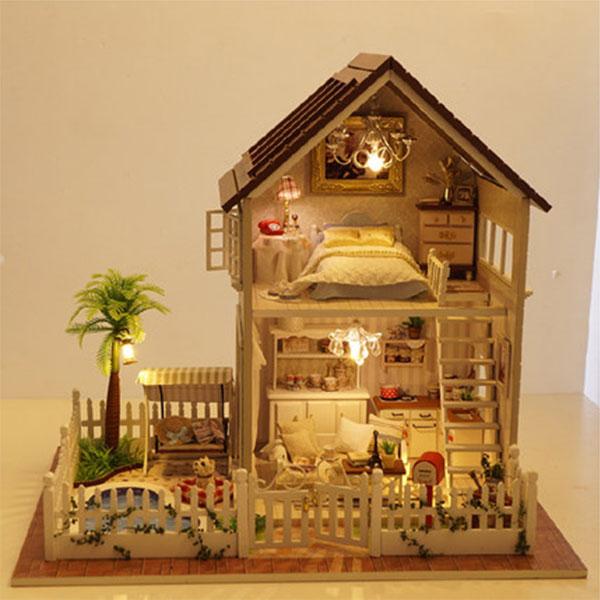 Diy Provence Wooden Dollhouses Apollobox