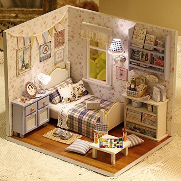 Miniature Dollhouse Diy Kit Apollobox